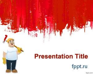 Красные шаблоны для презентаций PowerPoint