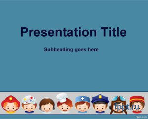 Театр для powerpoint презентаций шаблон